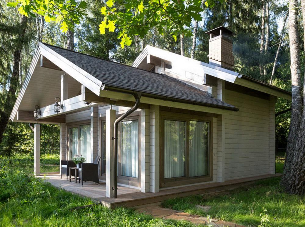 Проекты лодочных домиков